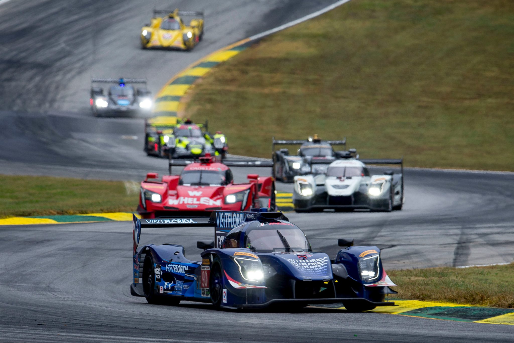 VISIT FLORIDA Racing Perseveres Through Petit Le Mans